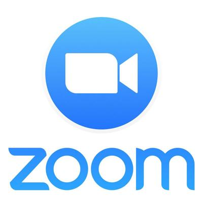 Zoom logon, video icon